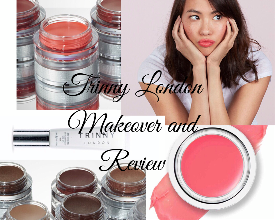 Trinny London Makeup Products Collage