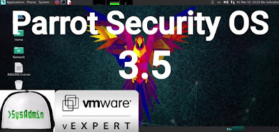 Parrot Security OS 3.5 (ParrotSec) Installation