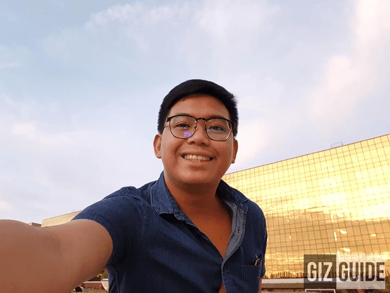 Outdoor selfie 2