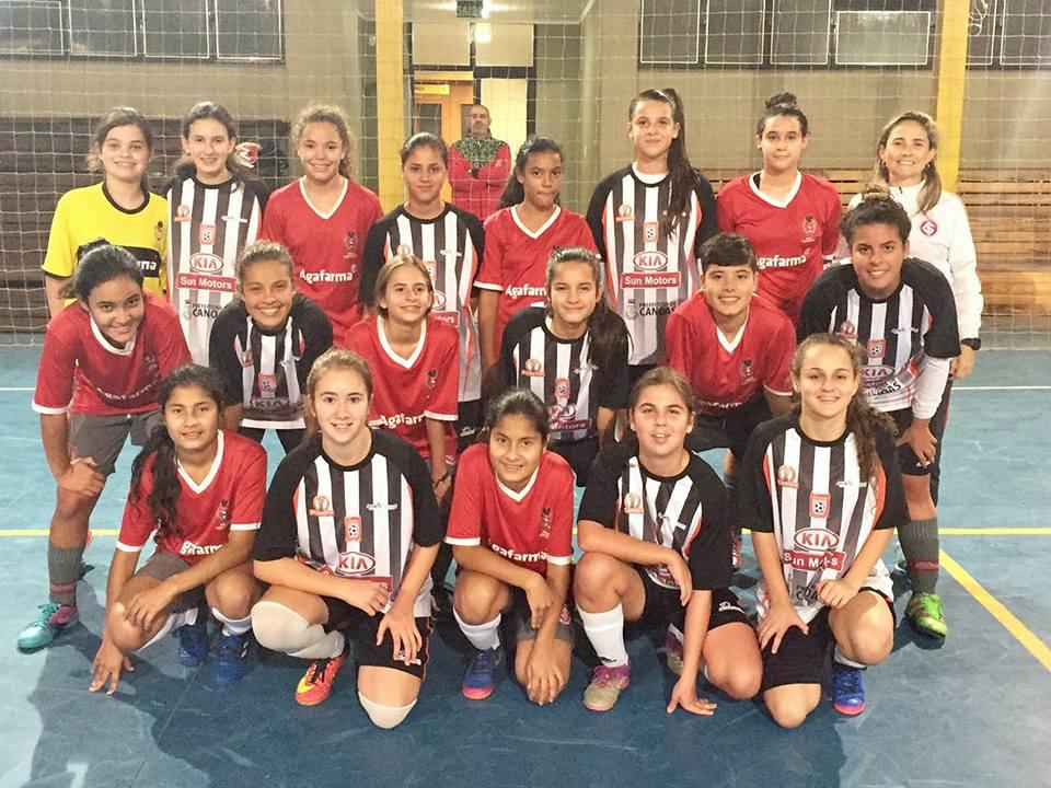 Futebol Feminino do Brasil  GURIAS COLORADAS NOS JOGOS ABERTOS DE ... 397f07419f161