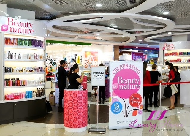 beauty by nature causeway point bloggers event