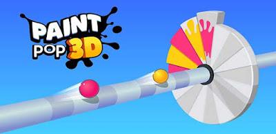 Paint Pop 3D Mod Unlocked/Coins Apk for Android Offline