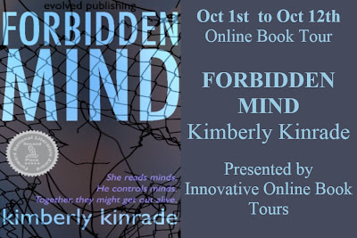 Blog Tour: Forbidden Mind by Kimberly Kinrade *Review, Guest Post & Giveaway*