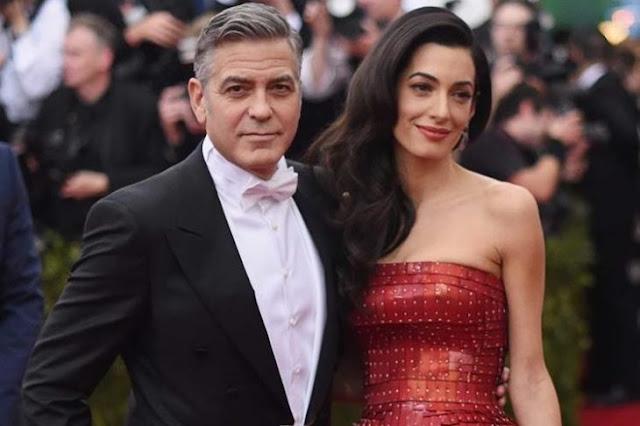 George Clooney y su esposa apoyaran estudios de niños sirios