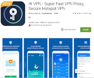 Ulasan Lengkap Aplikasi Hi VPN - Super Fast VPN Proxy, Secure Hotspot VPN