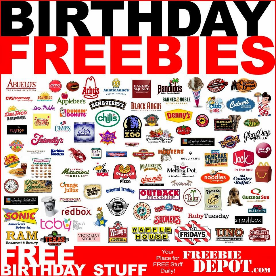Is Your Birthday Coming Up? If So, You Can Get Free Food