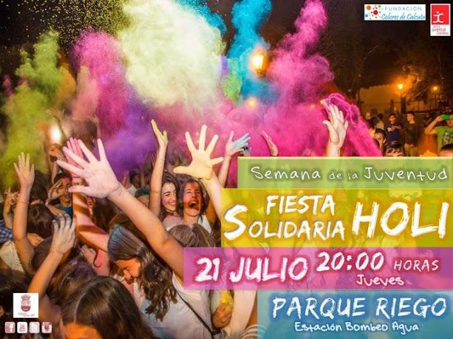 Fiesta Holi 2016 de Colindres