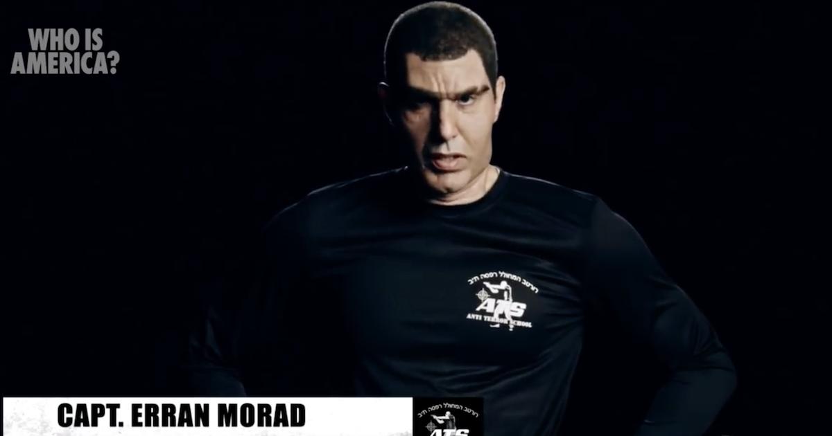 Erron Morad-Who is America?-Sacha Baron Cohen