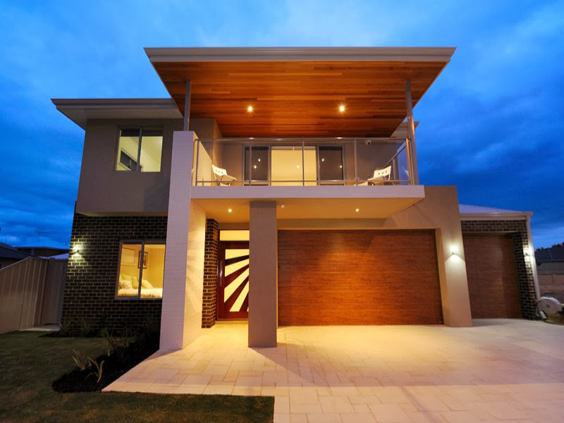 Hogares frescos fachadas de casas especial de hogares for Modelos de terrazas modernas