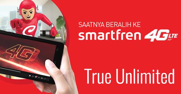 Menikmati Kecepatan Tanpa Batas dari Smartfren 4G Unlimited