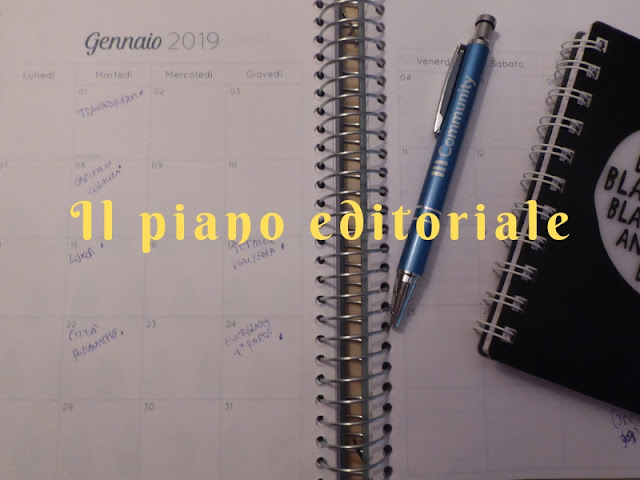 L'importanza di un piano editoriale per il blog