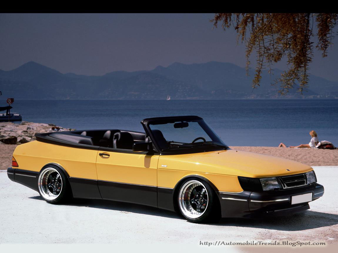 automobile trendz saab 900 convertible. Black Bedroom Furniture Sets. Home Design Ideas