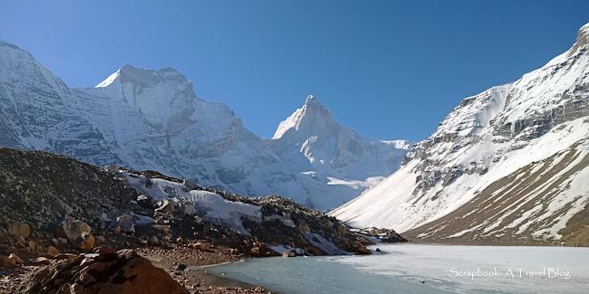 Kedartal Mt Thalaysagar Mt Bhrigupanth Uttarakhand Himalayan trekking
