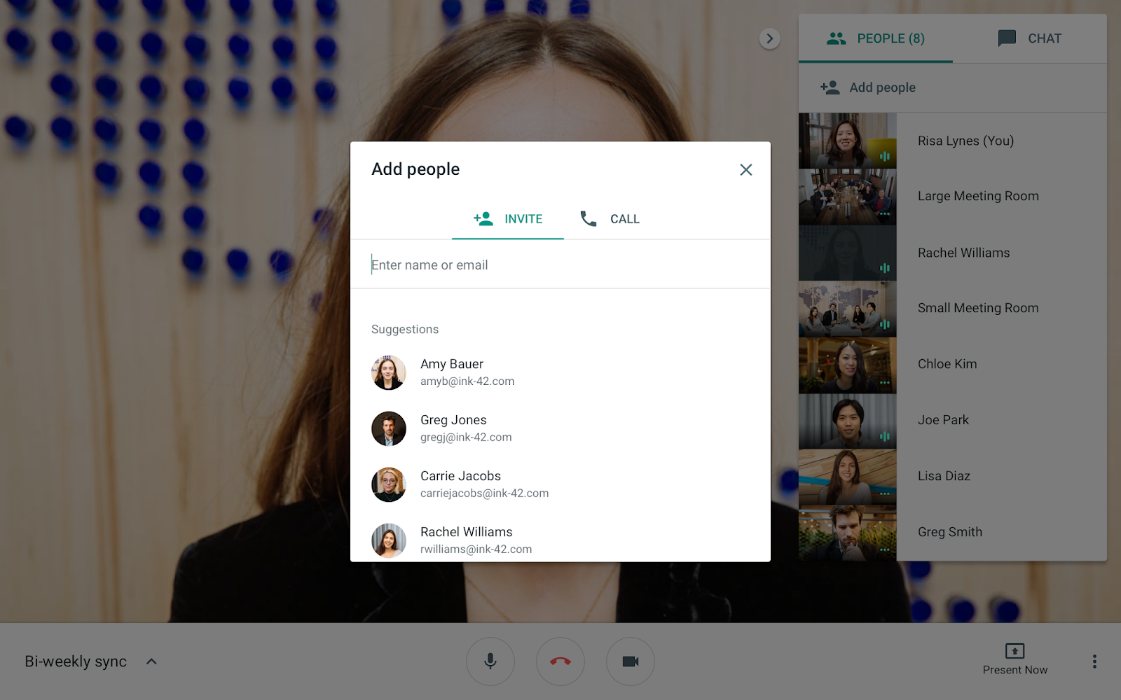 G Suite Updates Blog Invite People To An Ongoing Hangouts Meet Meeting