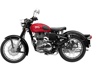 Royal Enfield Classic 350 Redditch Red Color 2018 Image