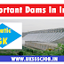 Important Dams In India | Static GK Topic Dam