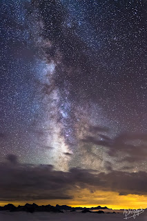 Milky Way from Pic du Midi Observatory