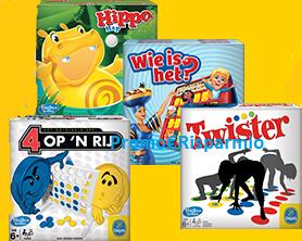 Logo Con Chiquita vinci 1.200 giochi Hasbro