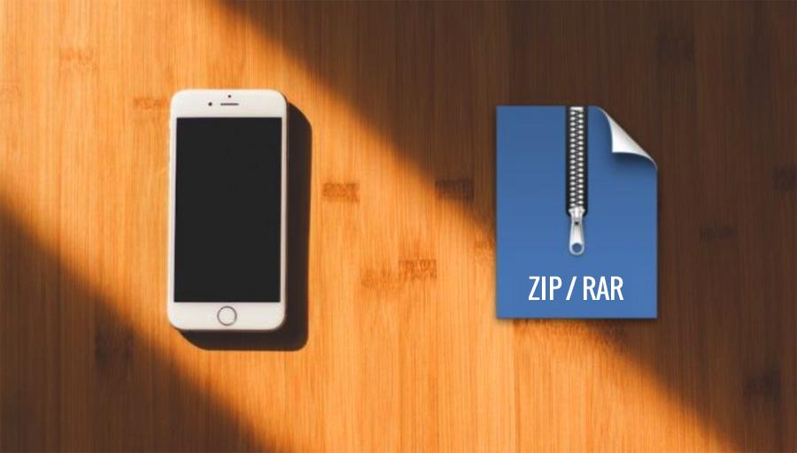Ekstrak File ZIP dan RAR di iPhone
