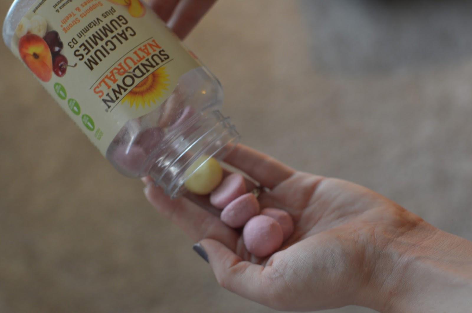 sundown naturals calcium gummies
