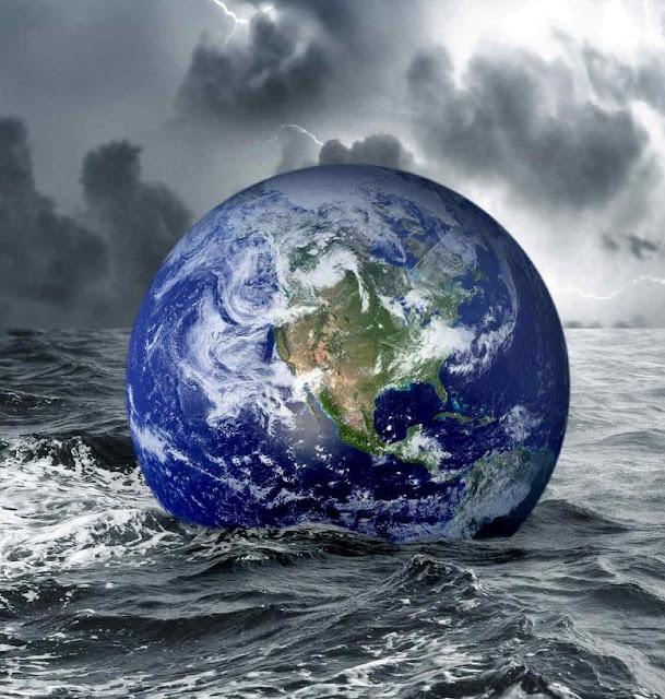 A imaginação apavoradora não conheceu limites e anunciou um possível derretimento súbito da Antártica