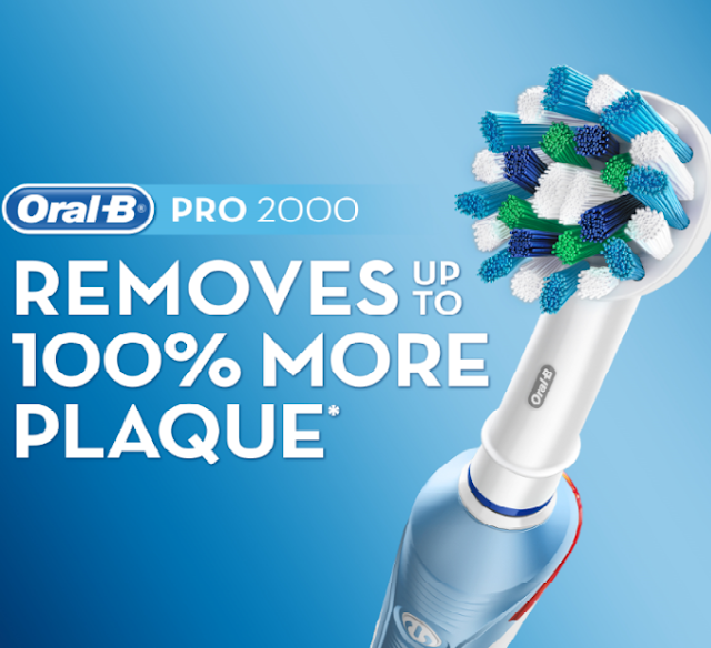 Oral-B,  electric toothbrushbrand*, just launched its electric rechargeable toothbrush range in India
