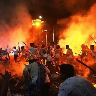Surabaya membara tahun lalu