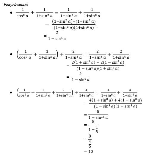 Kumpulan Soal Pengayaan Trigonometri The Power Of Mathematics