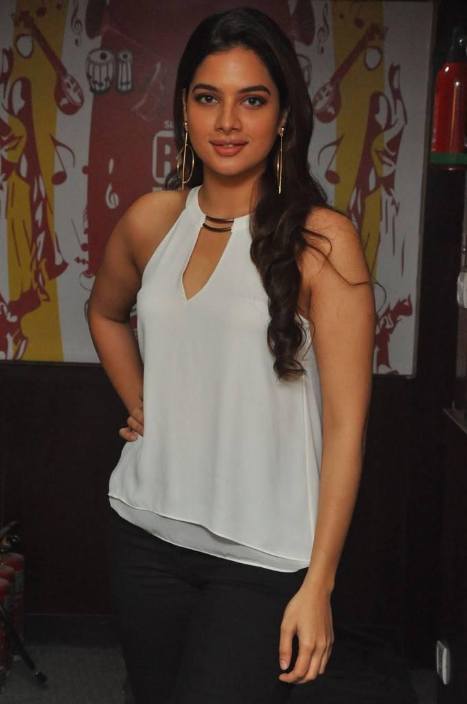 Tanya Hope At Patel SIR Movie Song Launch At Red FM Stills