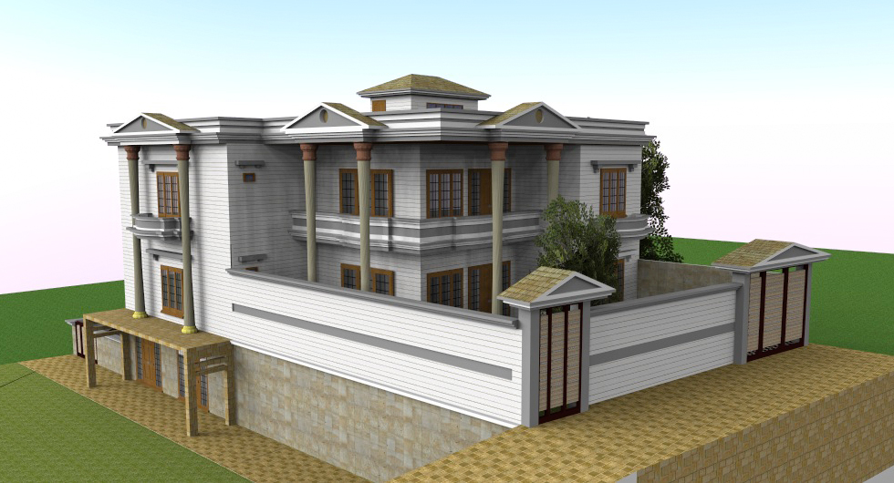 LANDMARK ASSOCIATES SWAT PAKISTAN : house project at chota