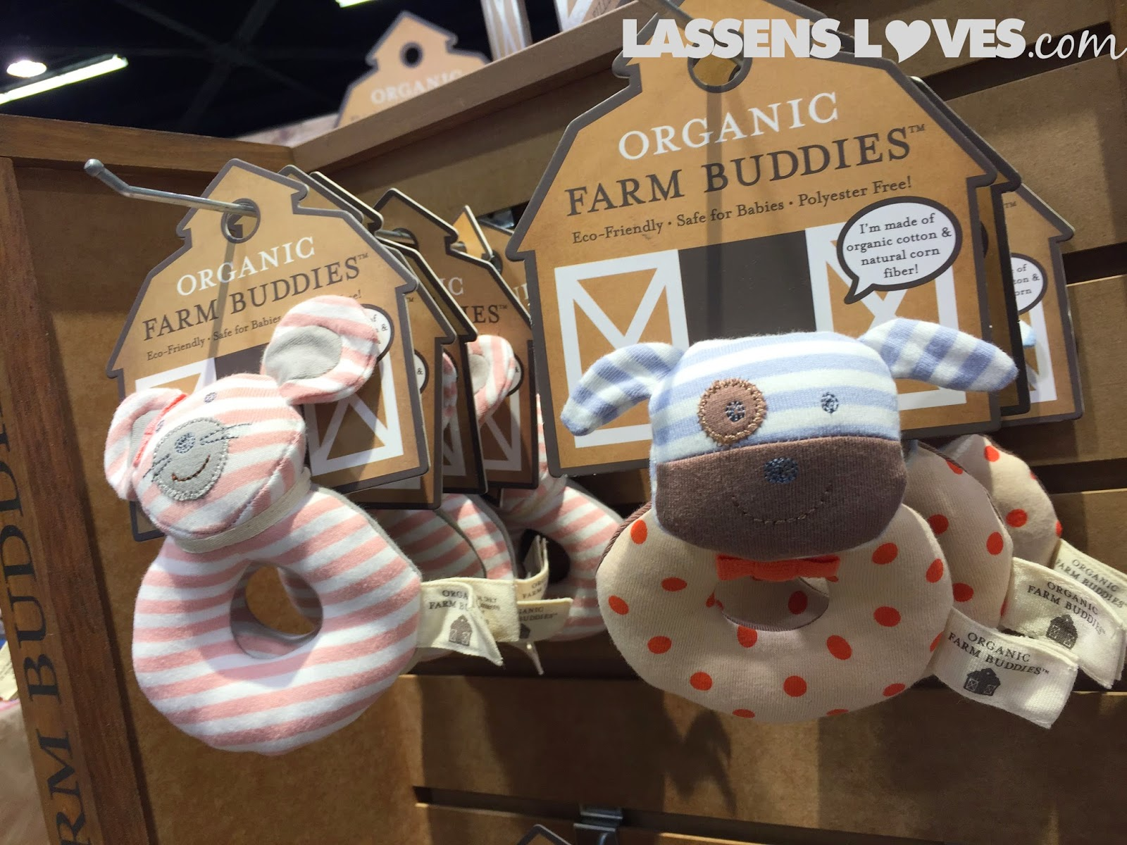 Expo+West+2015, Natural+Foods+Show, New+Natural+Products, organic+cotton, baby+rattles, organic+farm+buddies