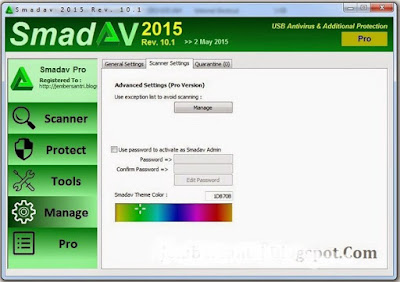 Smadav Pro Rev 10.1 Full Serial Number Terbaru 2015