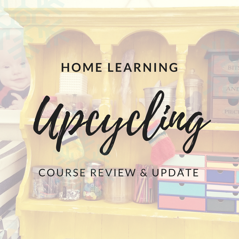 Wafflemama home learning upcycling course review for Furniture upcycling course