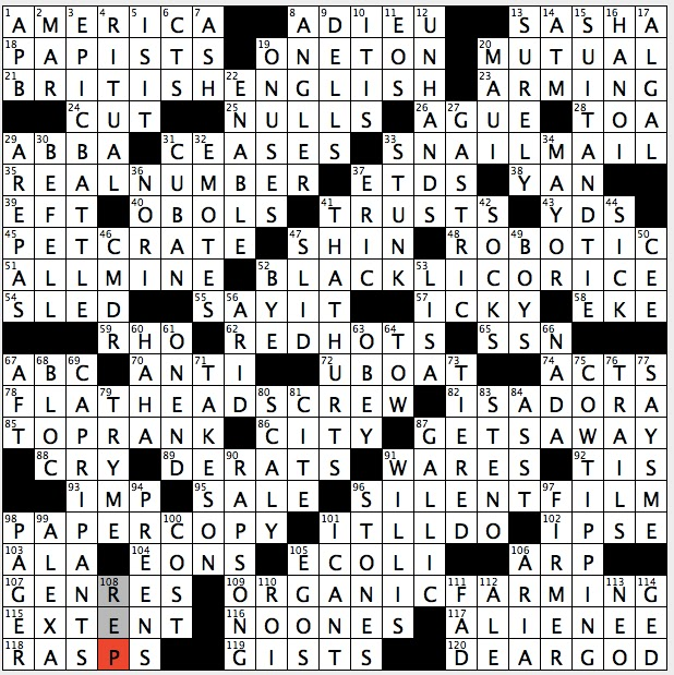 Rex parker does the nyt crossword puzzle coins that pay for passage sunday december 11 2016 spiritdancerdesigns Gallery
