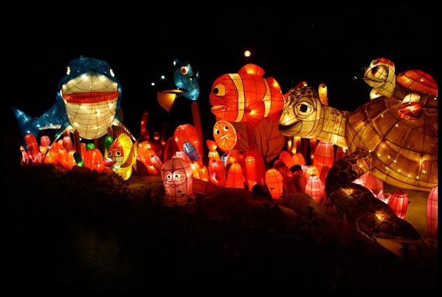 Klik untuk melihat Wisata Malam Jogja Taman Lampion]