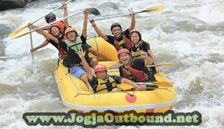 Outbound dan Rafting di Magelang