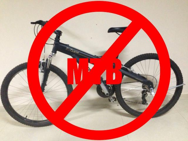 Por que a Caloi T-Type e outras bicicletas de supermercado não são Mountain  Bikes  7699638997109