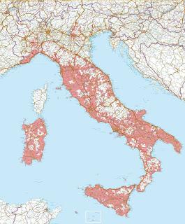 mappa leishmaniosi canine in Italia