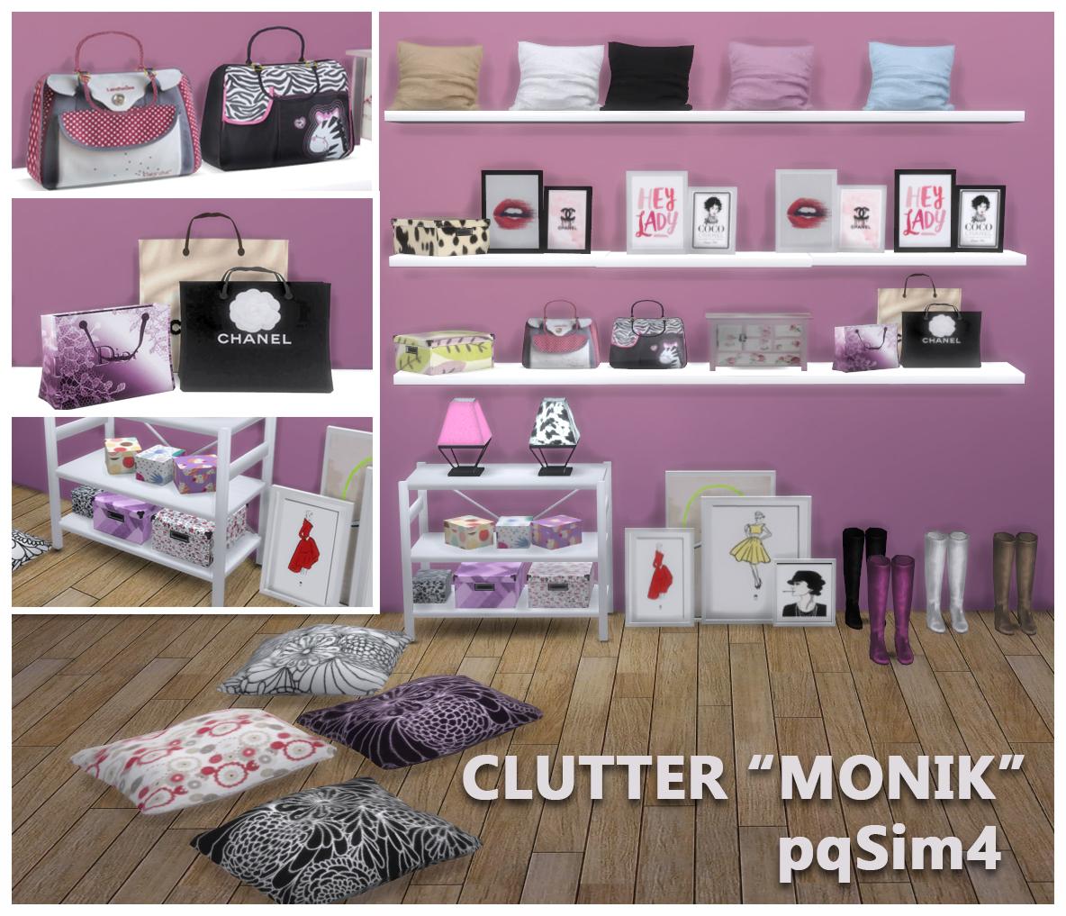Clutter De Dormitorio Quot Monik Quot Sims 4 Custom Content