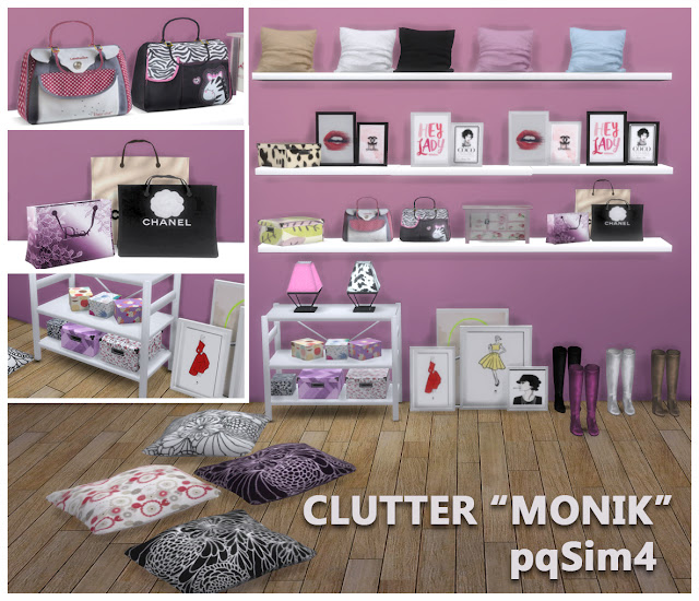 Clutter. Sims 4 CC.