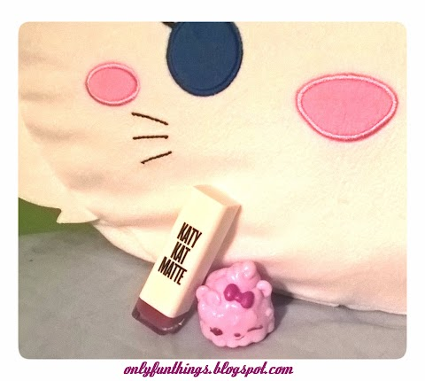 Katy Perry Lipstick in Kitty Purry- Review