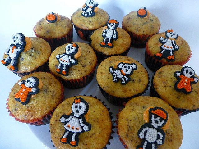 cakesophia and more halloween muffins. Black Bedroom Furniture Sets. Home Design Ideas