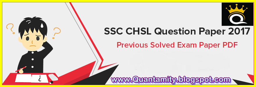 Ssc Previous Year Papers Pdf