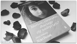 """170. """"Marion, córeczko, dlaczego cię zadręczyli?"""" Nora Fraisse"""