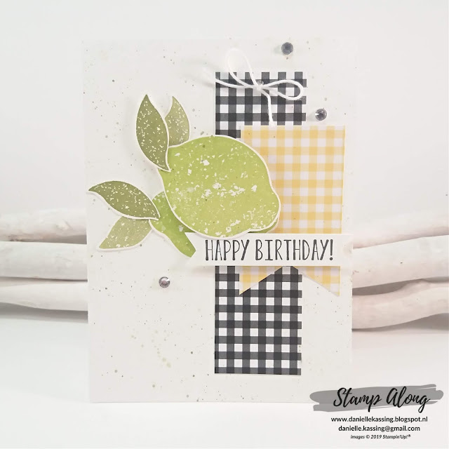 Stampin' Up! Lemon Zest!