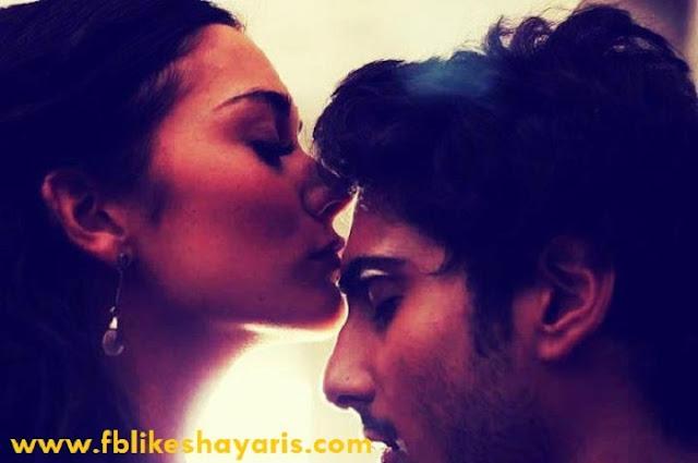 Deep feeling love shayari for girlfriend by boyfriend in hindi font 2017