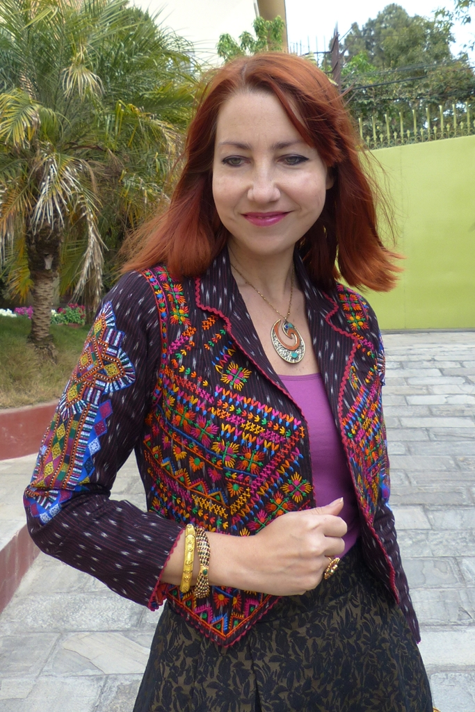 Rabari inspired ethnic embroidered jacket