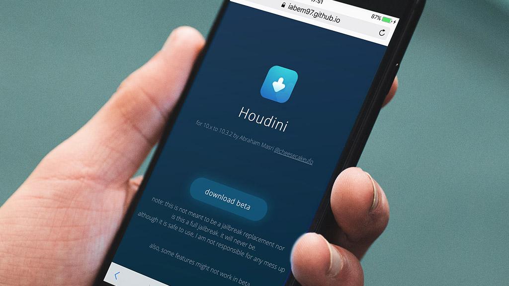 Developer Released Houdini Semi-Jailbreak For 64-Bit Devices