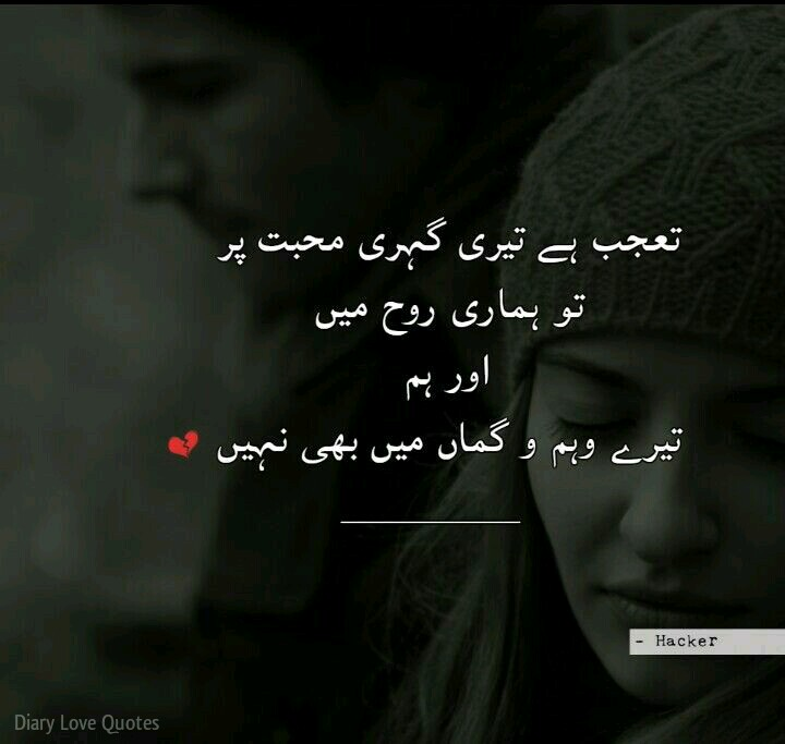 Best Poetry Quotes Of Love In Urdu