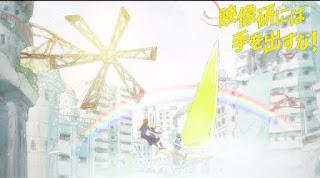 A mágica da animação! em Keep Your Hands Off Eizouken!